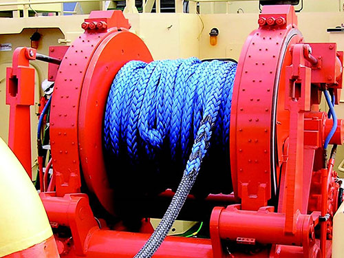 Escort Winches, designed and produced by the maritime welding and marine construction company Markey Machinery