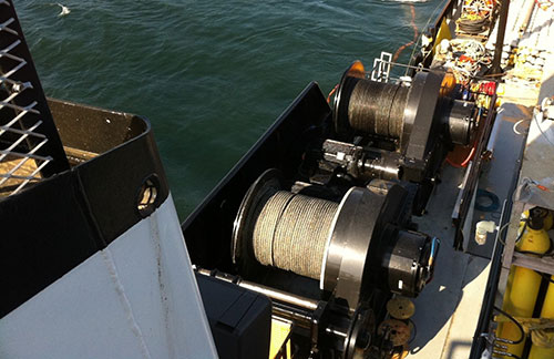 Mooring Winches designed and produced by the maritime welding and marine construction company Markey Machinery